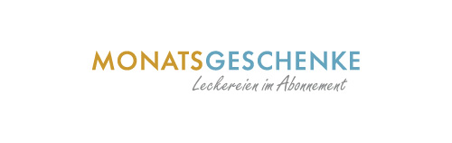 Logo Monatsgeschenke - Leckereien im Abonnement